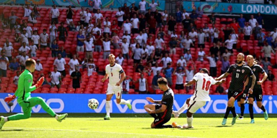 Hasil Euro 2020 - Kalahkan Kroasia, Inggris Cetak Dua Sejarah Baru Sekaligus