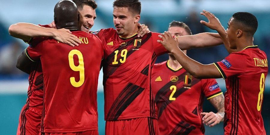 Hasil Euro 2020 - Berkah Dua Kali Blunder, Belgia Curi 3 Poin Perdana