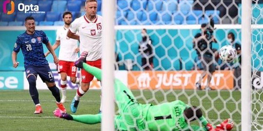 Hasil Lengkap Euro 2020 - Gol Bunuh Diri Bikin Polandia Keok, Spanyol vs Swedia Melempem