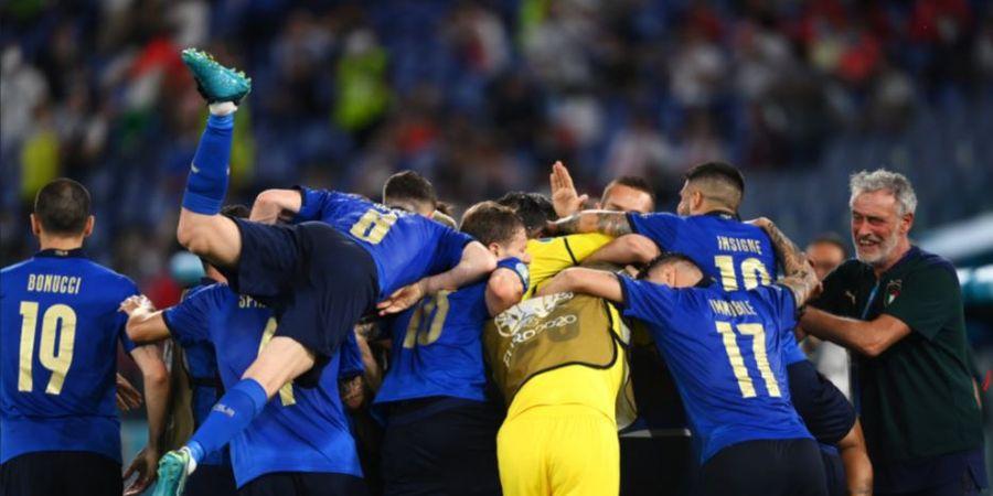 Klasemen EURO 2020 - Italia Jadi Raja, Gareth Bale cs Cuma 3 Jam Cicipi Puncak