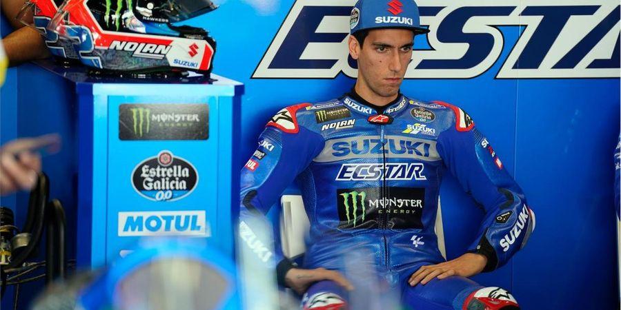 Kejar Enea Bastianini Sampai Crash, Alex Rins: Ducati Lima Langkah di Depan Suzuki