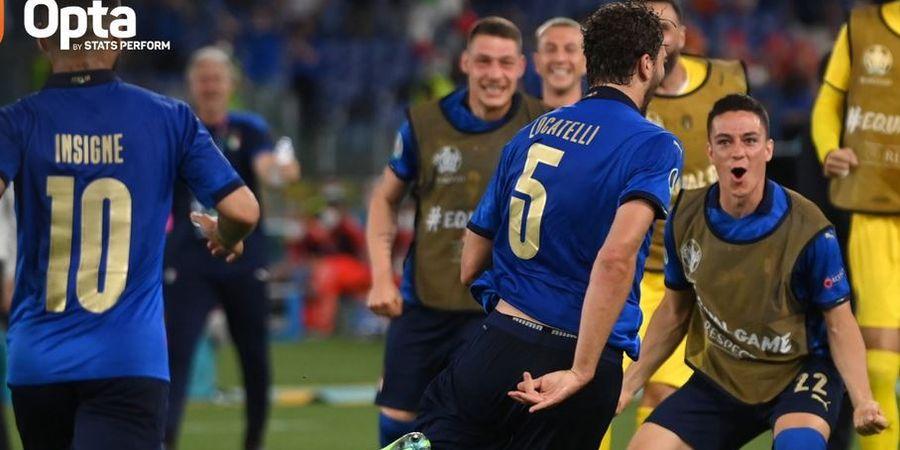 Man of the Match EURO 2020 - Manuel Locatelli, Buangan AC Milan, Tiru Balotelli