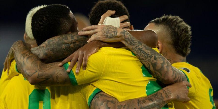 Hasil Copa America 2021 - Neymar Asik Menari-nari, Brasil Pesta Gol ke Gawang Peru