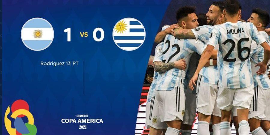 Hasil Lengkap dan Klasemen Copa America - Lionel Messi 1 Gol dan 1 Assist, Argentina-Cile Pemimpin Kembar