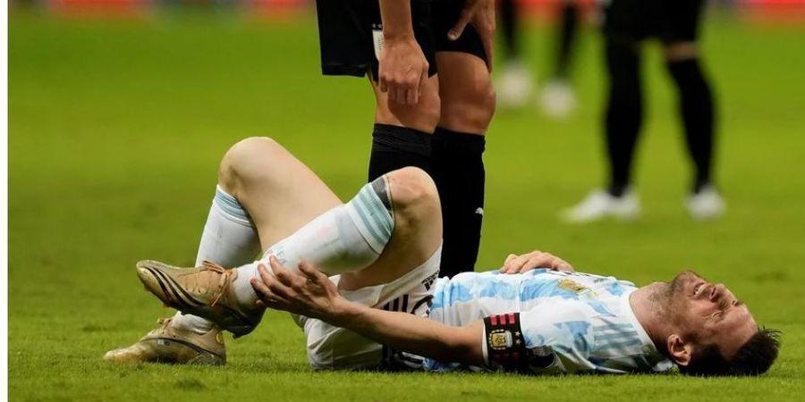 Copa America 2021 - Lionel Messi Marahi dan Usir Dokter Tim Argentina setelah Terkapar di Lapangan