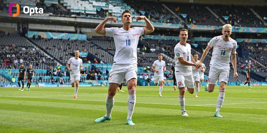 EURO 2020 - Sejajar Cristiano Ronaldo, Patrik Schick Kecewa Berat Republik Ceska Gugur