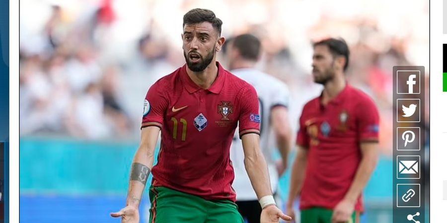 Jerman Habisi Portugal, Bruno Fernandes Dikritik Seakan Tak Niat Bermain