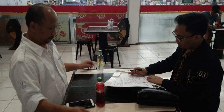 Tim Liga 3 Jadi Sorotan Usai Lakukan Penandatanganan Akuisisi di Minimarket