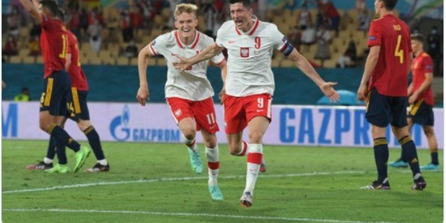 Hasil EURO 2020 - Sudah 2 Kali Dimenangkan VAR, Spanyol Hobi Imbang