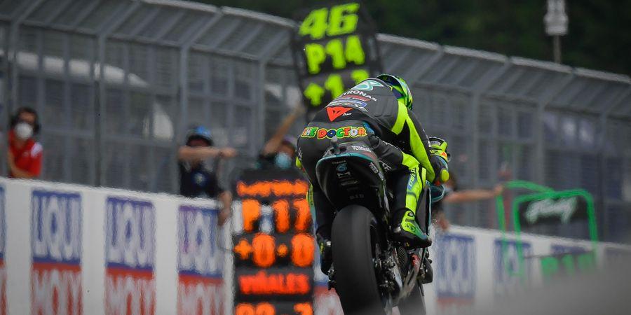 Valentino Rossi dan Muridnya Patahkan Harapan Petronas SRT di MotoGP 2021