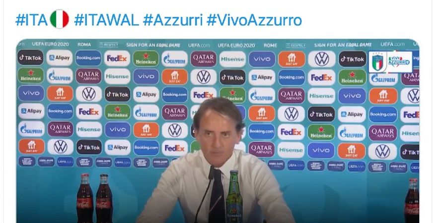 Berita EURO 2020 - Roberto Mancini: Semua Pemain Italia Layak Jadi Pemain Inti