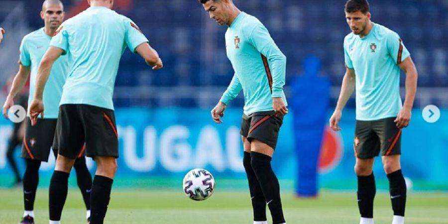 Cristiano Ronaldo Beri Isyarat untuk Akhiri Kutukan Gol Kontra Prancis