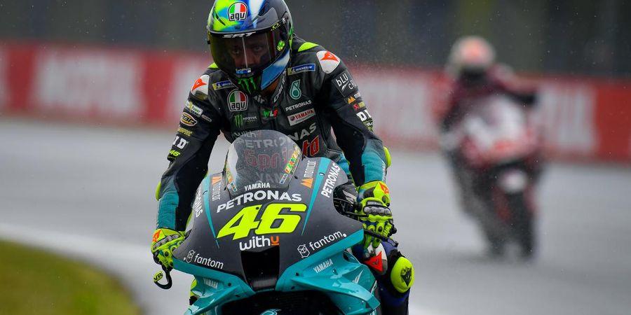 Bos Petronas SRT Bocorkan Penyebab Valentino Rossi Sering Terjatuh