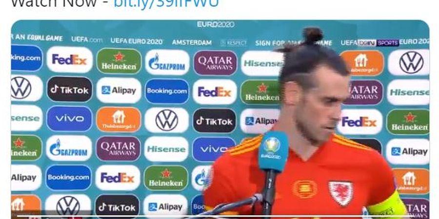 EURO 2020 - Usai Melengos saat Wawancara, Gareth Bale Kini Blak-blakan soal Masa Depannya