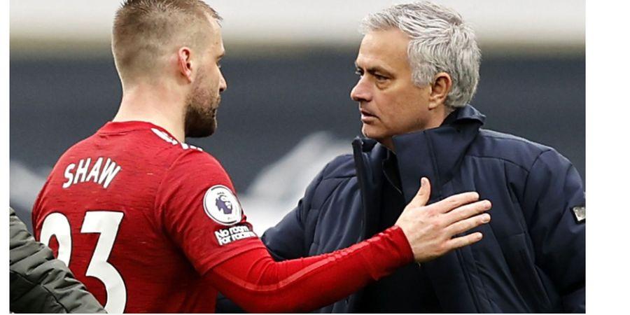 Jose Mourinho Akhirnya Melunak Setelah Berulang Kali Semprot Luke Shaw