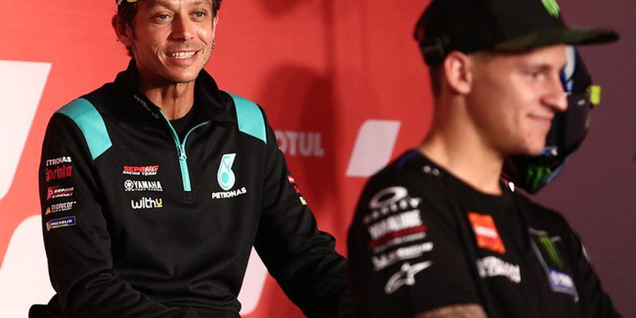 MotoGP Panas karena Hal Ini, Fabio Quartararo dan Valentino Rossi cs Saling Sorak
