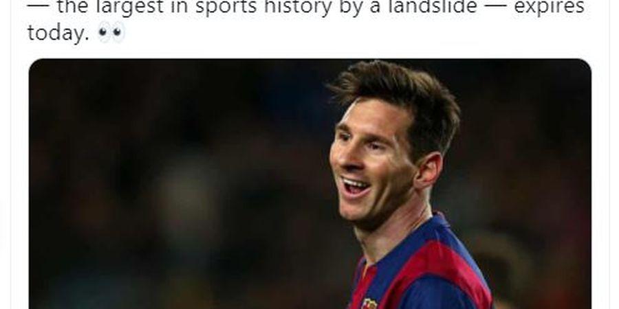 Lionel Messi Ditawari Kontrak 15 Tahun dari Klub Terburuk Dunia, Syaratnya Mesti Bersumpah Pele Lebih Baik dari Maradona