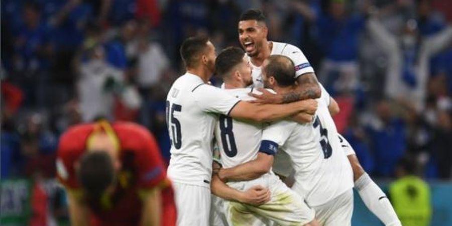 Belum Tanding di Semifinal, Italia Sudah Punya Satu Pendukung di Final