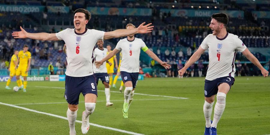 EURO 2020 - Inggris ke Semifinal, Maguire: Kami Tidak Berhenti di Sini