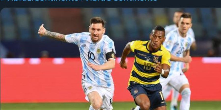 Lionel Messi Dijuluki Ibukota Turki di Copa America 2021, Mengapa Begitu?