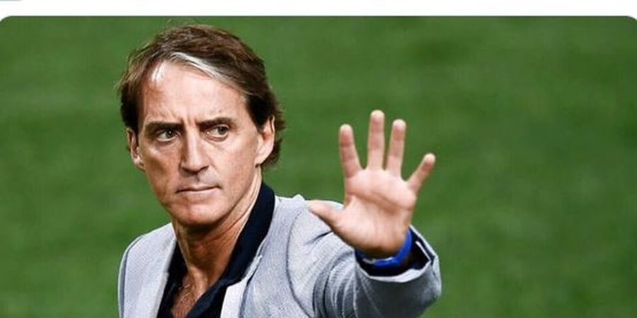 Dua Kata Roberto Mancini Usai Bawa Italia Ukir Rekor Unbeaten Terpanjang