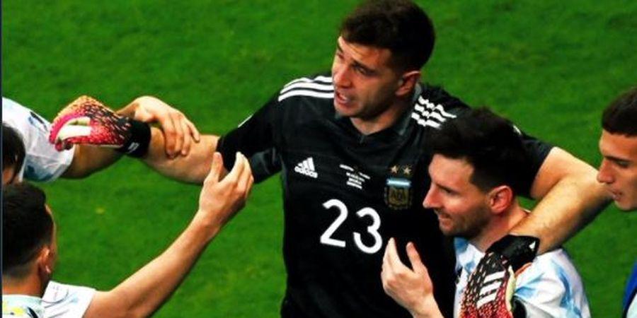 Copa America 2021 - Ekstrem, Isi Percakapan Emiliano Martinez Kompori 3 Eksekutor Penalti Kolombia