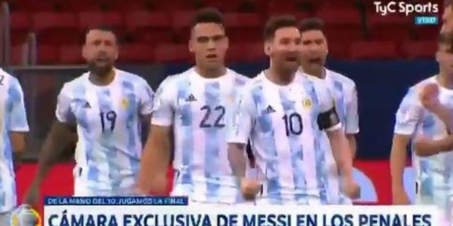 Copa America 2021 - Lionel Messi Lecehkan Bek Everton Begitu Gagal Penalti, Wasit Sampai Turun Tangan