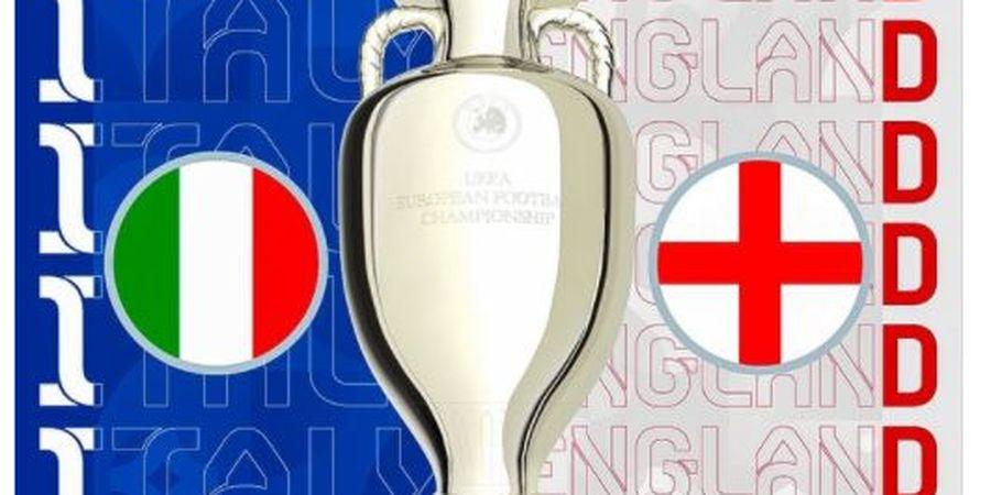 Link Live Streaming Final EURO 2020 Italia Vs Inggris - Penasbihan Tim Terbaik Eropa Hanya di Mola TV Akses Melalui BolaSport.com