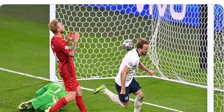 EURO 2020 - Pelatih Denmark Kesal dengan Penalti Kontroversial Inggris