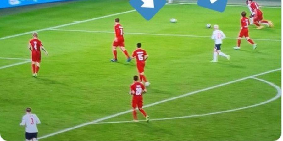EURO 2020 - 2 Bola dan Diving sebelum Penalti, UEFA Mau Inggris ke Final?