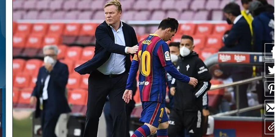 Ronald Koeman Mulai Khawatir dengan Masa Depan Lionel Messi di Barcelona
