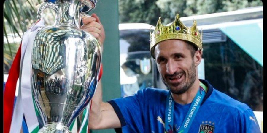 Giorgio Chiellini Menghilang  dari Tim Terbaik EURO 2020, Leonardo Spinazzola Heran