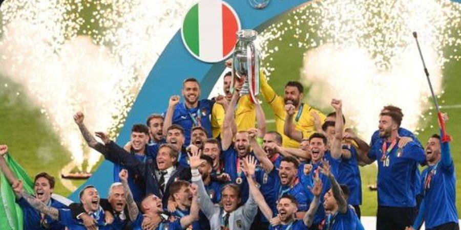 Cerita Pelatih Persija Begadang Nonton Timnas Italia di EURO 2020