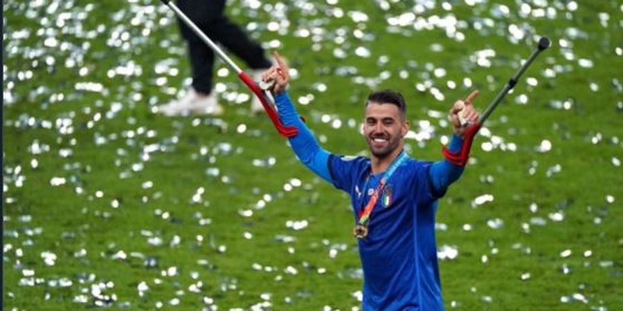 Cedera Leonardo Spinazzola Jadi Roda Penggerak Italia ke Tangga Juara EURO 2020