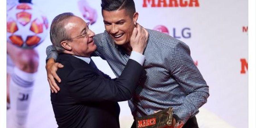 Rekaman Presiden Real Madrid Florentino Perez Hina Cristiano Ronaldo Bocor: Dia Gila, Idiot, Sakit!