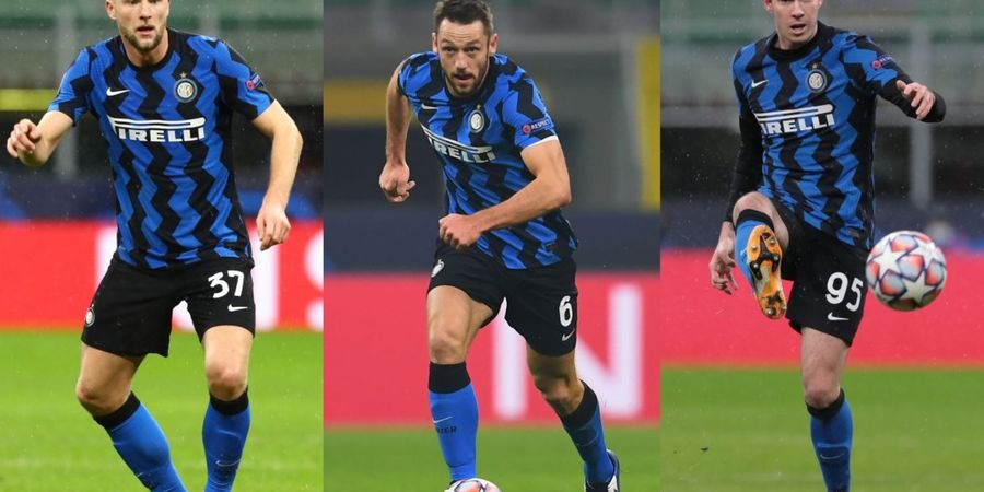 Usung Skema Tiga Bek, Pelatih Anyar Inter Milan Bakal Pertahankan Trio Bek Warisan Antonio Conte