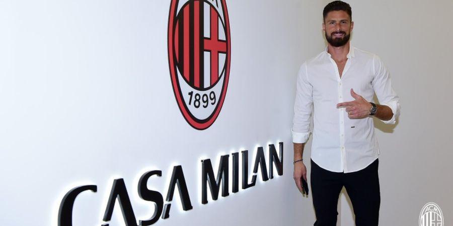 Olivier Giroud Resmi Gabung, AC Milan Jadi Tim Terboros di Liga Italia Sejauh Ini