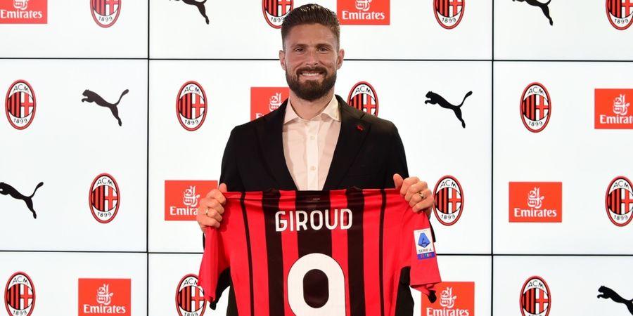 Tinggalkan Chelsea, Olivier Giroud: Tuhan Ingin Saya Gabung AC Milan