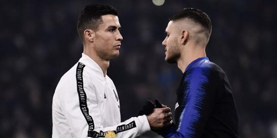 Dirumorkan Bakal Jadi Pelicin Transfer Cristiano Ronaldo ke PSG, Mauro Icardi Angkat Bicara