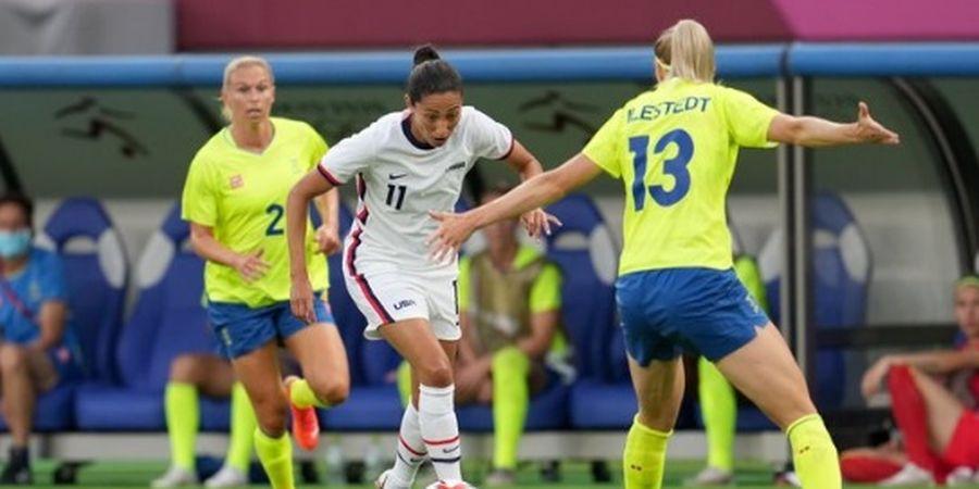 Olimpiade 2020 Cabor Sepak Bola Putri - Rekor Unbeaten Hancur di Tangan Swedia, Amerika Serikat Sakiti Diri Sendiri