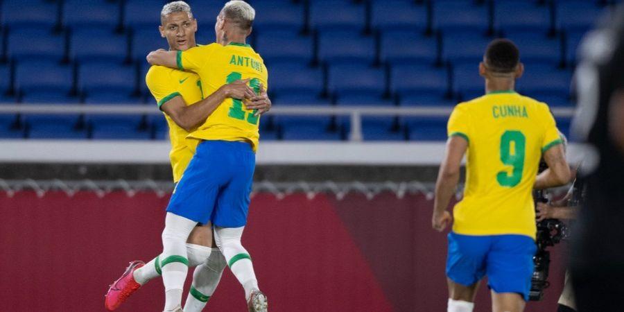 Hasil Lengkap, Klasemen, dan Jadwal Olimpiade Tokyo 2020 - Brasil Libas Jerman, Prancis Dibabat Meksiko