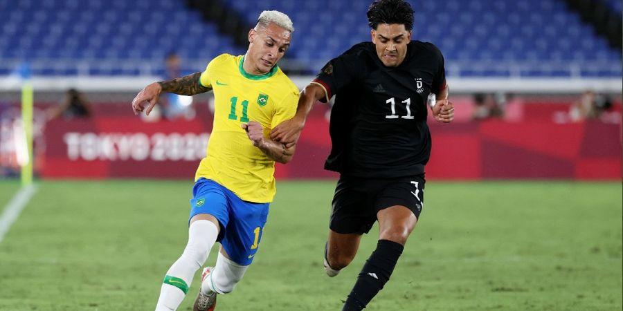 Hasil Olimpiade Tokyo 2020 - Richarlison Subur, Brasil Bikin Jerman Babak Belur