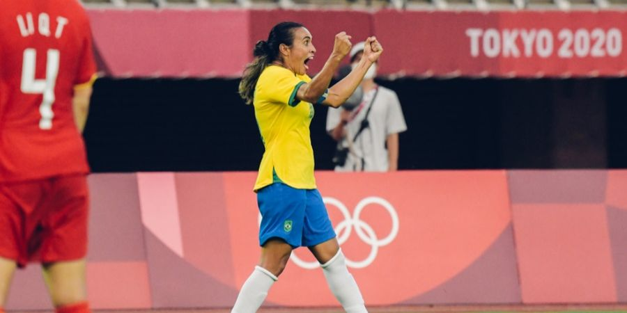 Olimpiade Tokyo 2020 - Cetak Rekor Istimewa, Kapten Timnas Putri Brasil Disanjung Pele Setinggi Langit