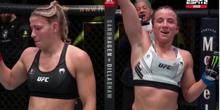 Hasil UFC Vegas 32 - Duel Cantik Berakhir Ketat, Anak Emas Dana White Menang Tipis