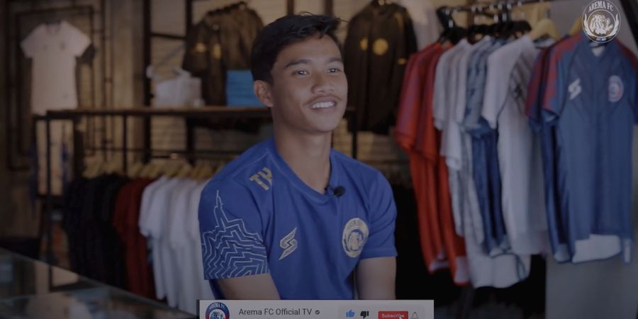Naik Kelas ke Tim Senior, Wonderkid Arema FC Pasang Target Tinggi