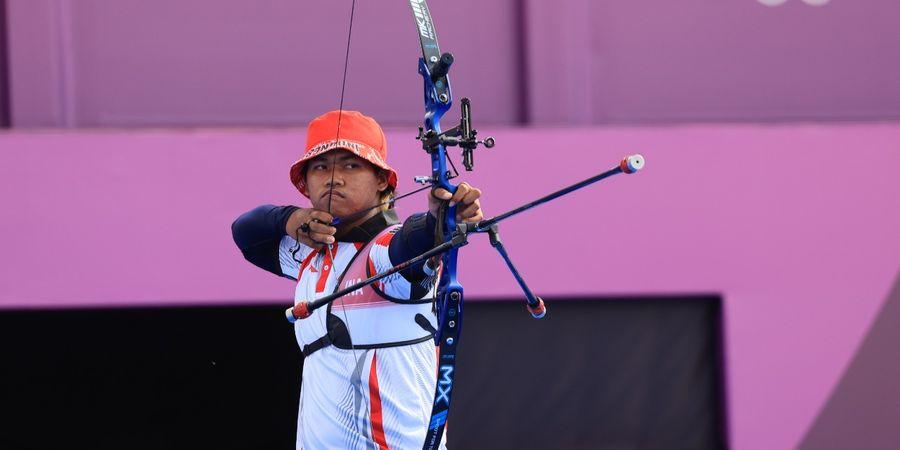Panahan Olimpiade Tokyo 2020 - Galau Bikin Arif Dwi Pangestu Takluk dari Wakil Jerman