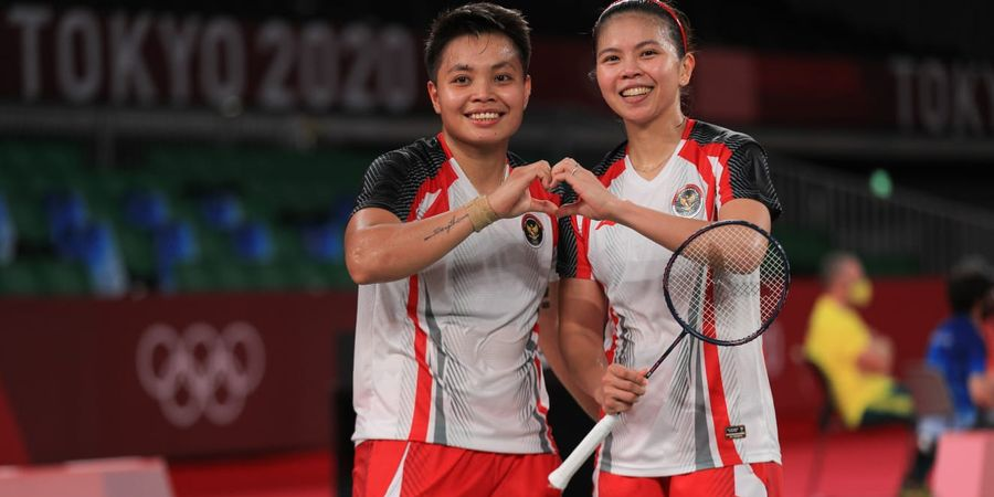 Olimpiade Tokyo 2020 - Greysia/Apriyani Akan Jumpai Wakil China pada Perempatfinal