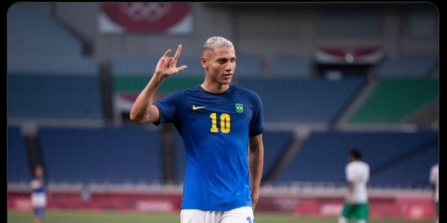 Richarlison Punya Nyali, Panggil Presiden FIFA Botak dan Janjikan Timnas Brasil Juara Piala Dunia 2022