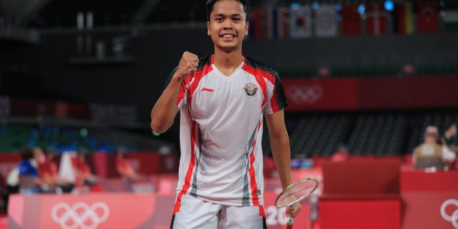 Olimpiade Tokyo 2020 - Amankan Tiket Perempat Final, Anthony Coba Tampil Enjoy
