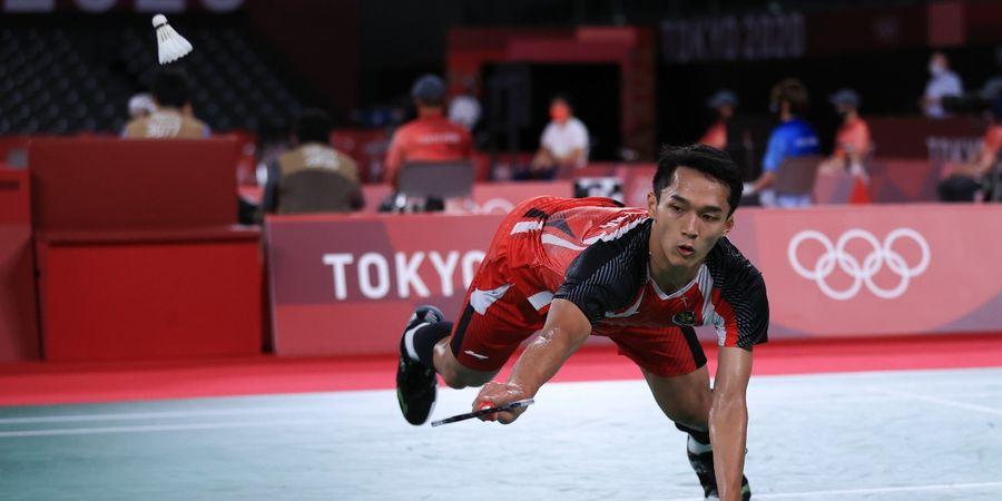 Olimpiade Tokyo 2020 - Jonatan Christie Kecewa, Belum Pikirkan Olimpiade 2024